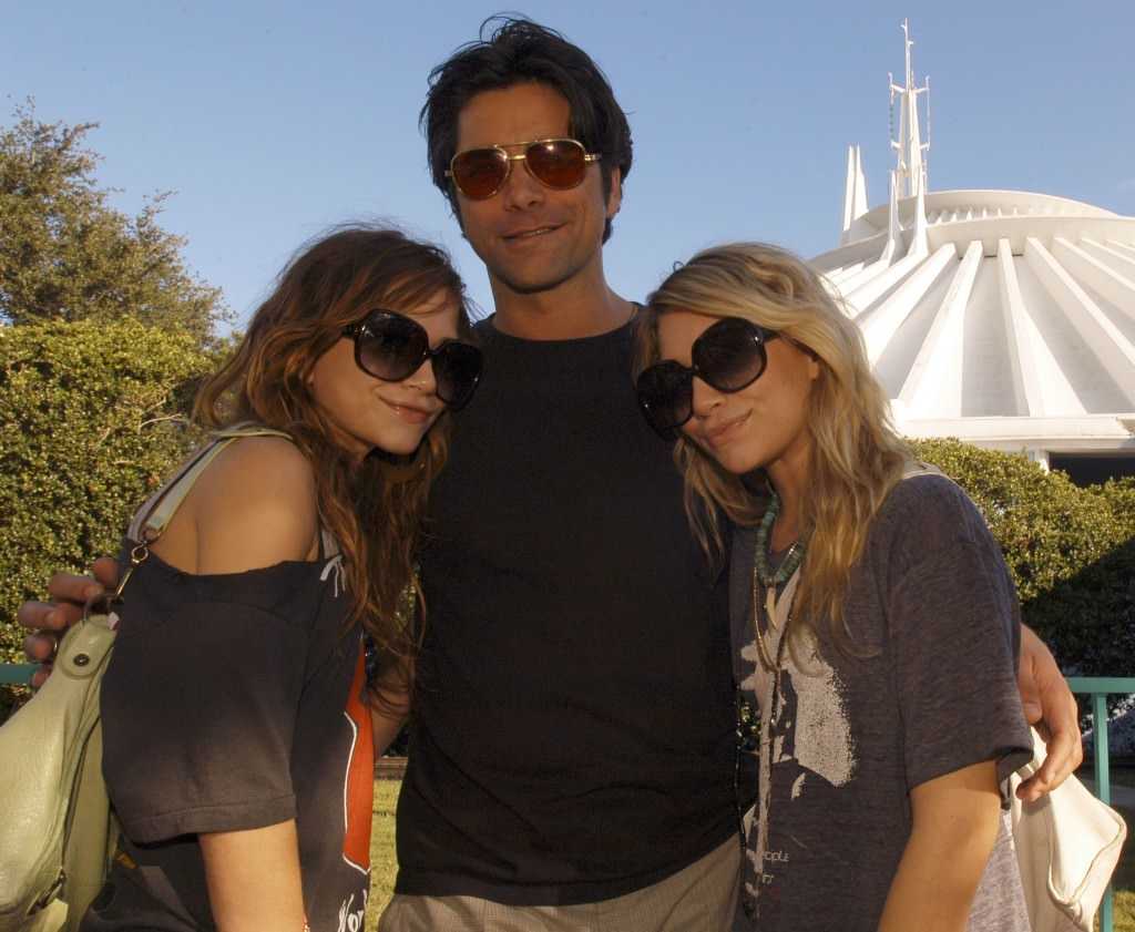 Stamos and Olsen Twins