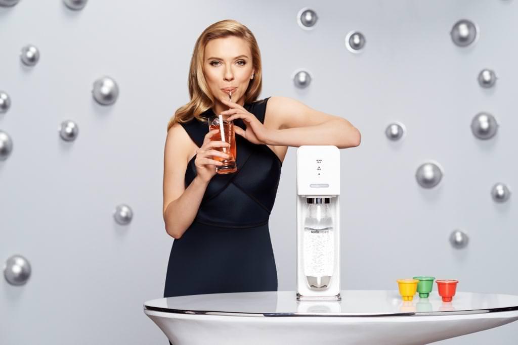 Scarlett in Banned Soda Stream Ad