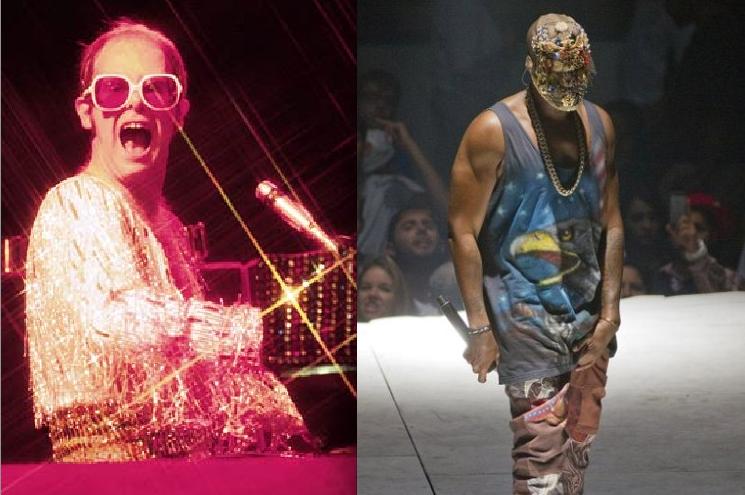 Elton and Kanye