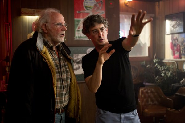 Alexander Payne and Bruce Dern