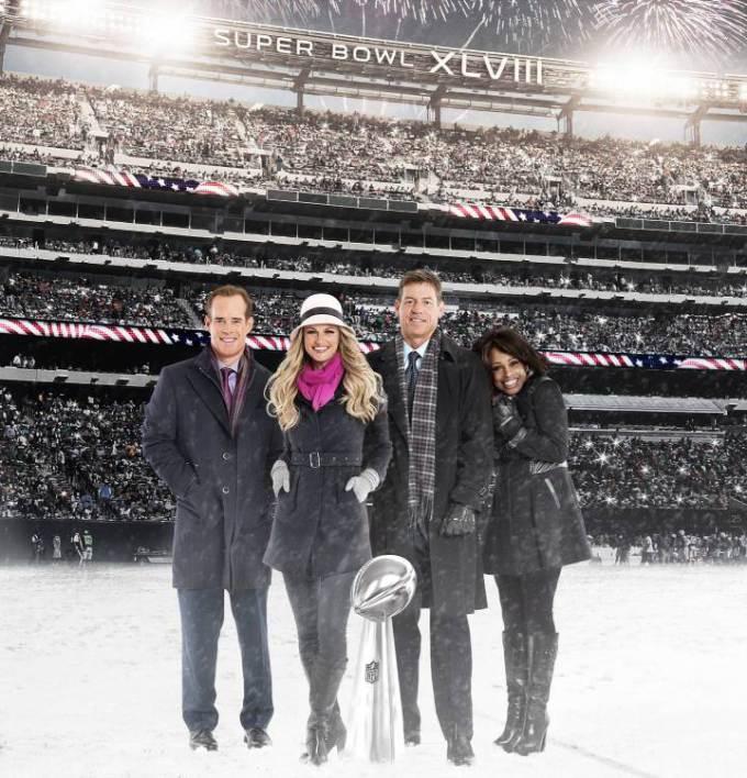 Fox Sports football crew