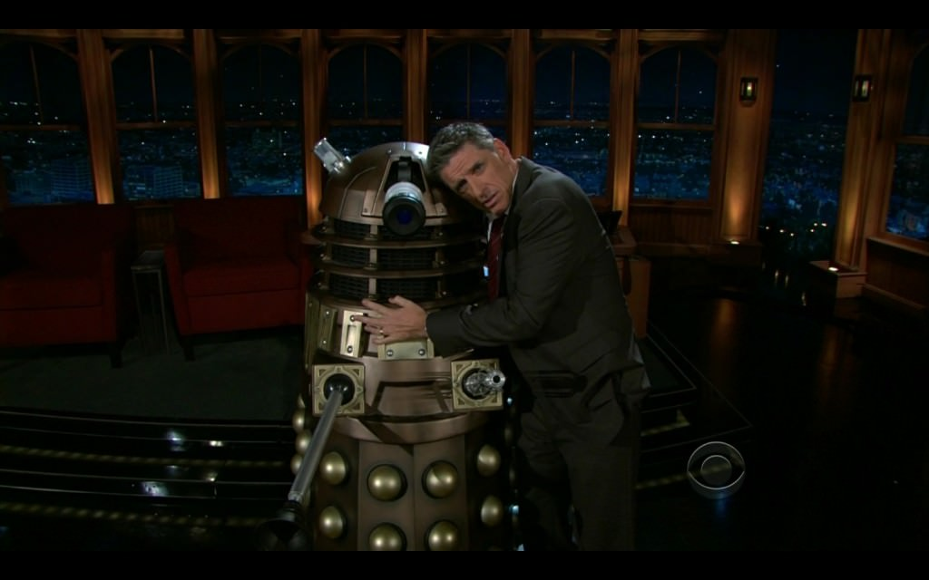 Craig Ferguson and Dalek