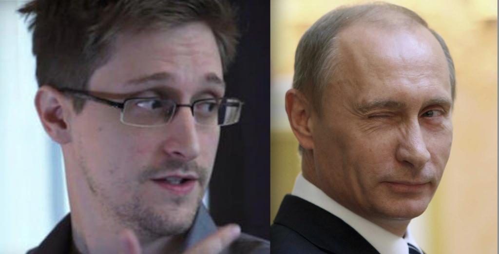 Snowden Putin