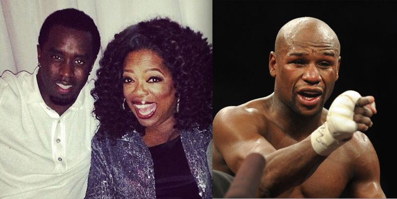 Diddy and Oprah / Mayweather