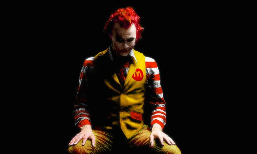 Not the new Ronald McDonald