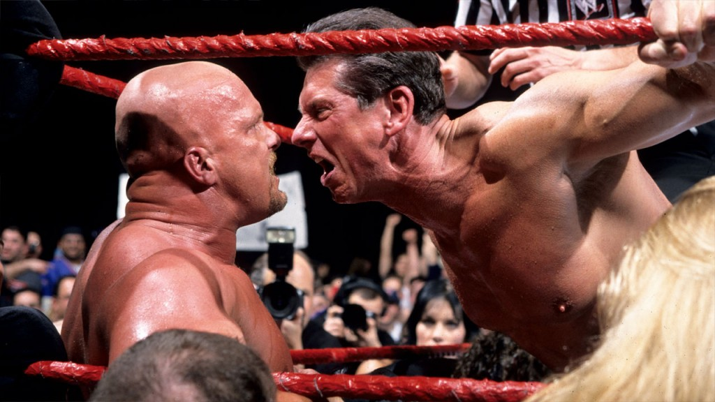 Vince McMahon and Stone Cold