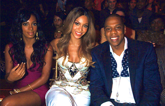 Bey and Jay and Solange