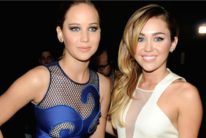 JLaw and Miley