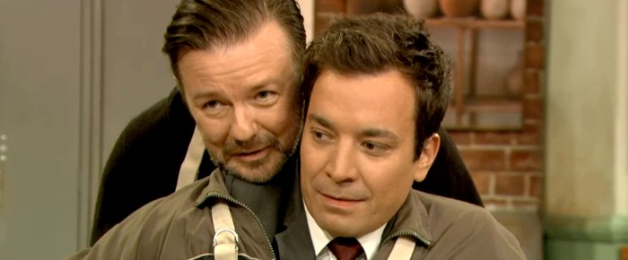 Fallon and Gervais
