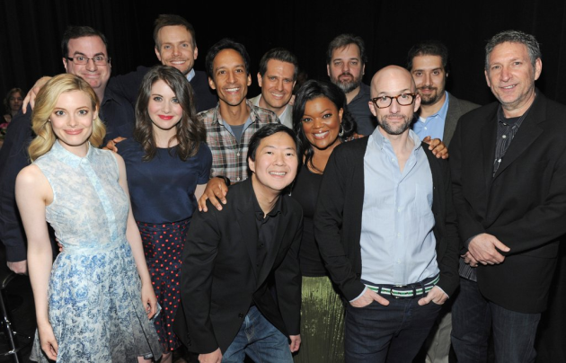 Community cast and producers