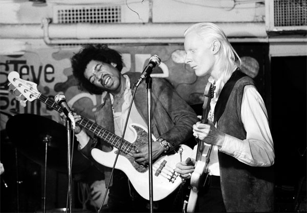Hendrix and Johnny Winter
