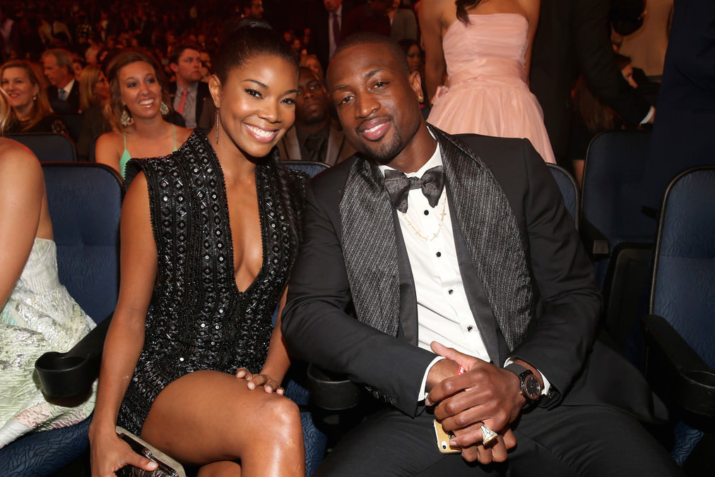 Gabrielle and Dwyane