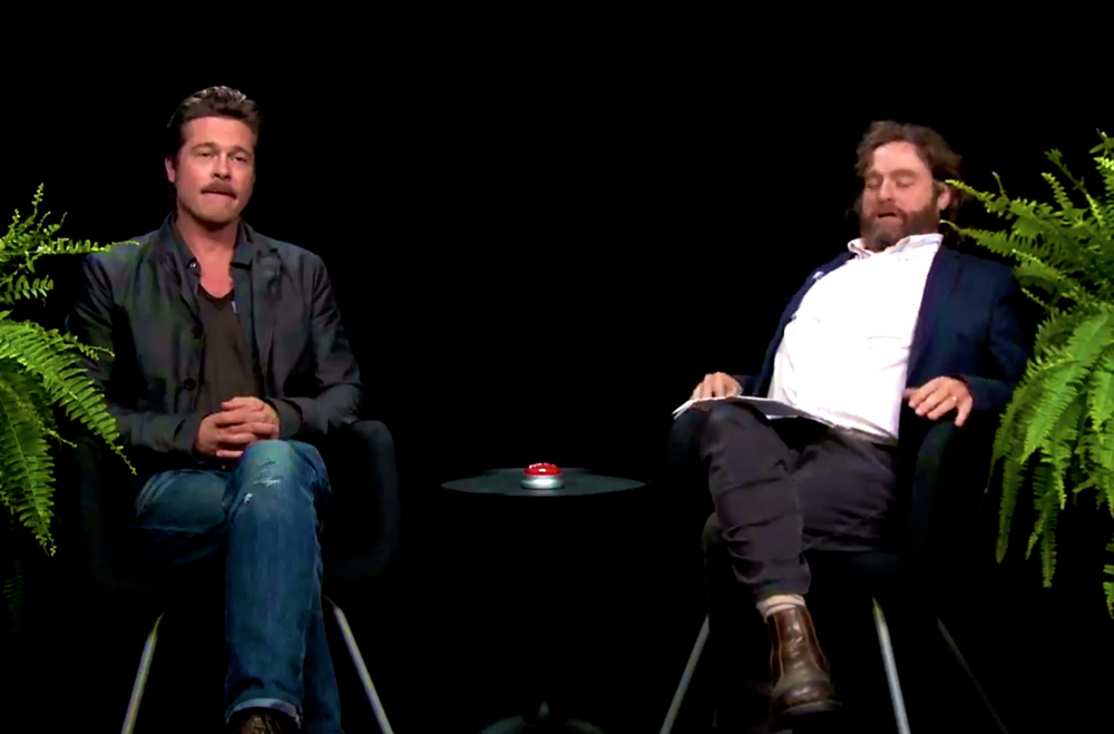 Pitt and Galifianakis