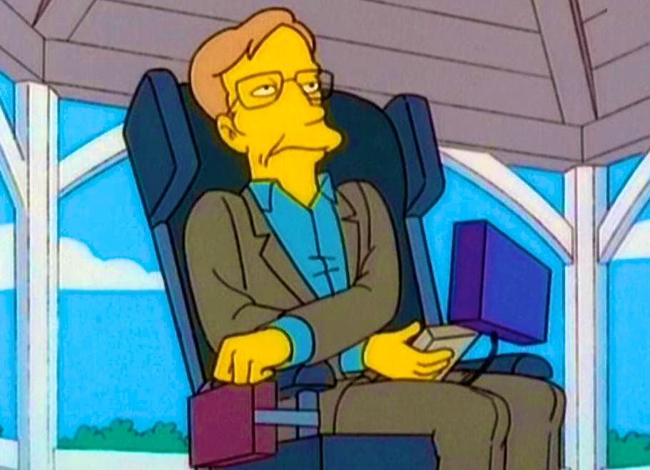 Hawking Simpsons
