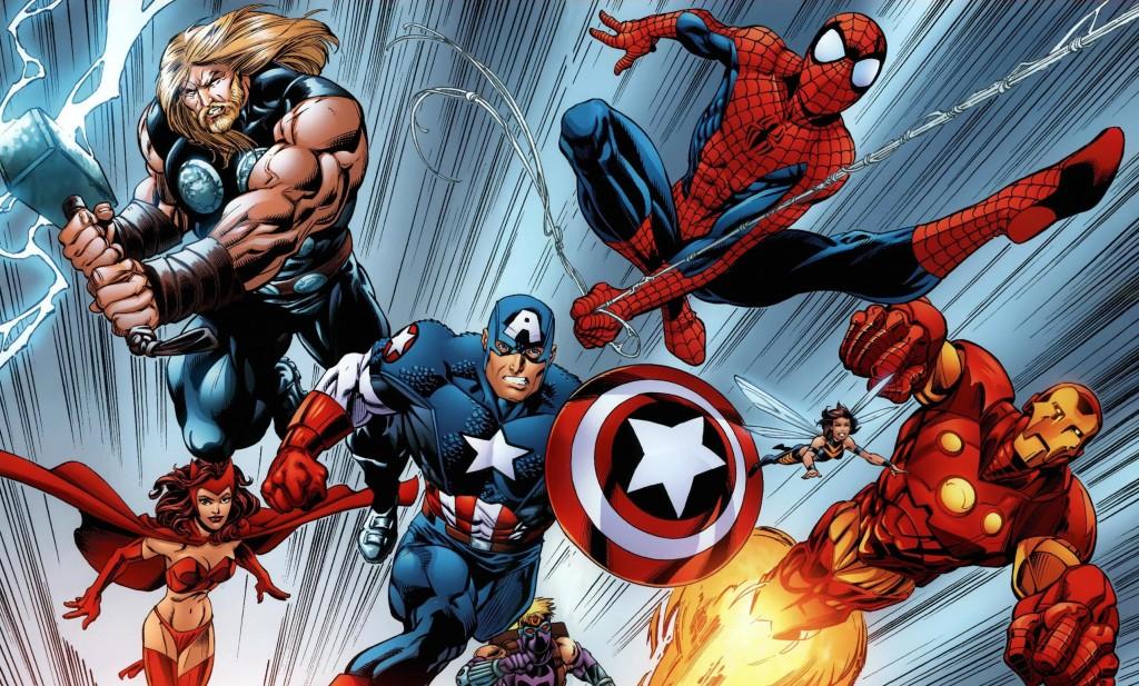 Avengers w/ Spidey