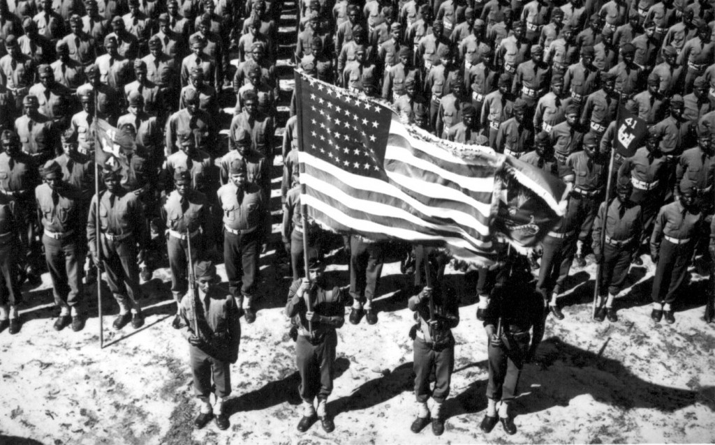 Veterans Day - African American soldiers during World War II